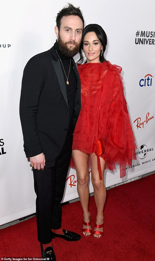 Parting ways: Kacey and Ruston announced their split earlier this month, calling the breakup a