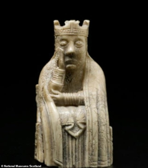 National Museums Scotland shared a snap of this chess piece, explaining: