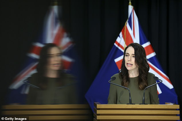 The outbreak has delayed the New Zealand elections by one month, and forced Jacinda Ardern (pictured) to impose the strict new restrictions
