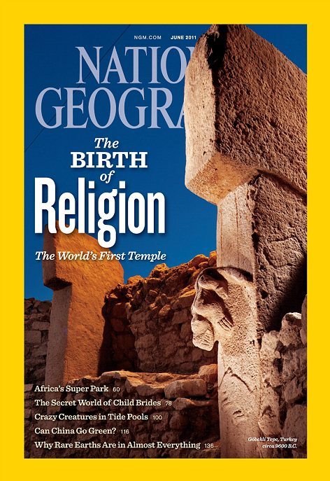 JUNE 2011 ISSUE OF NATIONAL GEOGRAPHIC