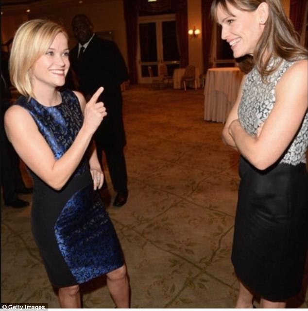 Adorable: Reese Witherspoon posted a sweet photo of her and