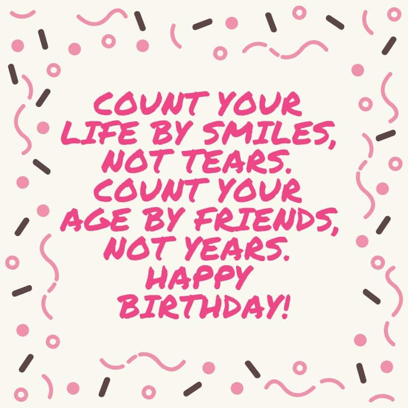 Birthday SMS, wishes and quotes