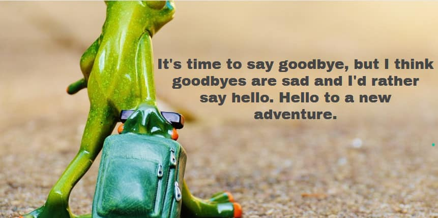 farewell messages, farewell message sample, goodbye and goodluck messages