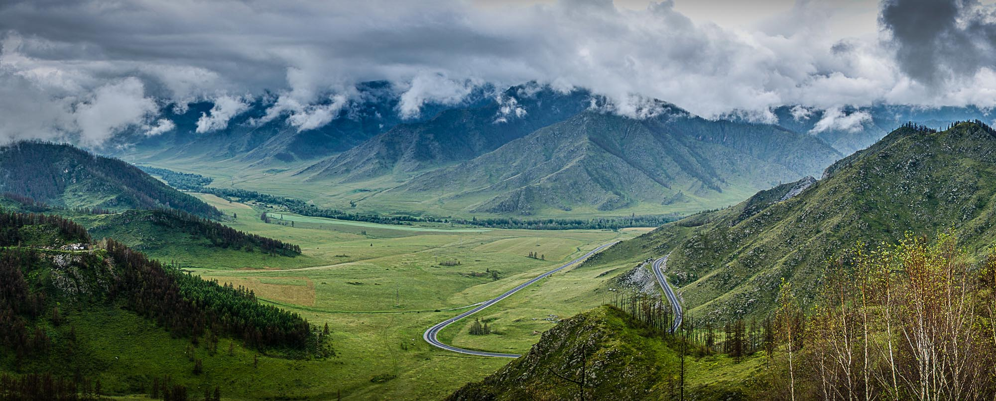 Chike-Taman, Altai by Serge Bystro