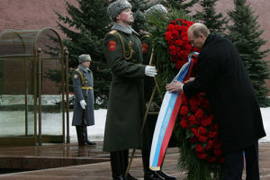 Vladimir Putin - Day of the defenders of the homeland in Russia