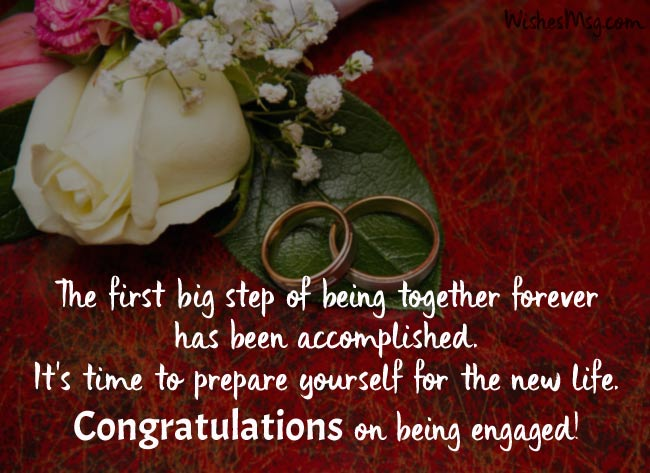 Congratulations Messages for Being Engaged