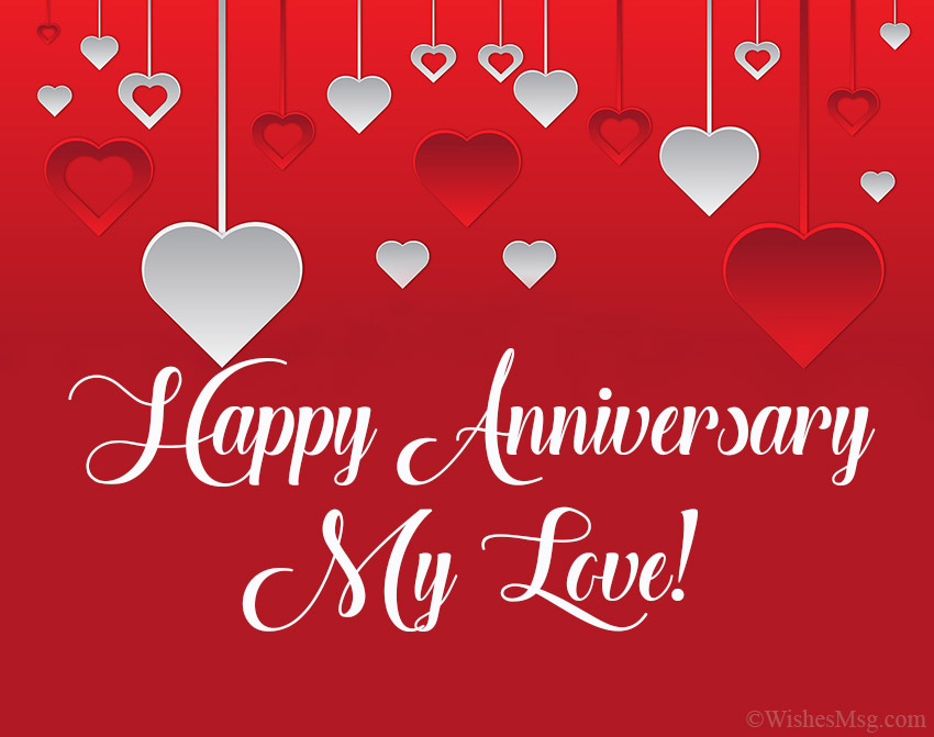Happy Wedding Anniversary To Us