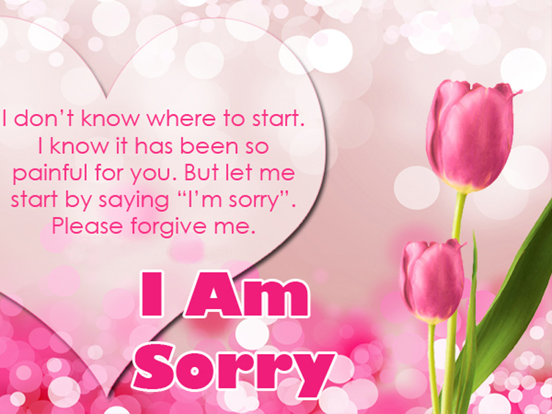 romantic sorry messages for husband
